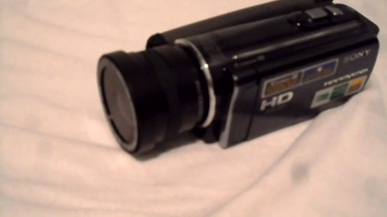 fisheye cam for sony hdr cx110 with macro youtube rh youtube com Sony Operating Manuals ICD-UX523 Sony Operating Manuals