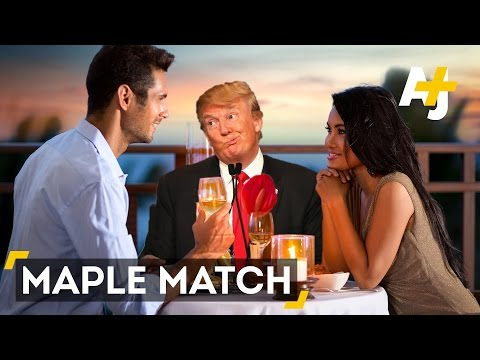 Dating Site Matches Anti-Trump Singles With Canadians
