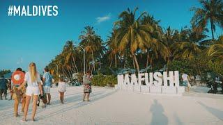 MALDIVES ?? ON LOW BUDGET - Maafushi Trip Day 1