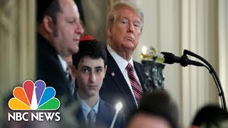 Baixar Trumps Host Hanukkah Reception At White House | NBC News (Live Stream Recording)