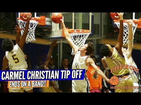 Cannon School & Carmel Christian EXCHANGE POSTER DUNKS! Raw Game Highlights