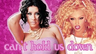 [KARAOKE] Can't Hold Us Down by Christina Aguilera feat Lil' Kim