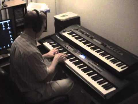 Sitar / Hindu / Middle Eastern / Arabic music played on Roland RD-700SX