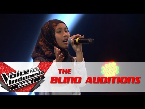Mutiara Still Into You I The Blind Auditis  The Voice Kids Indesia Seas 2 GlobalTV 2017