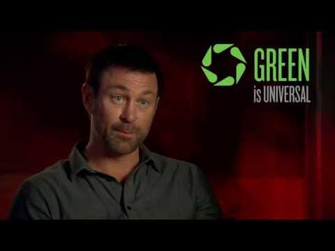 Syfy's Grant Bowler Gives Green Tips