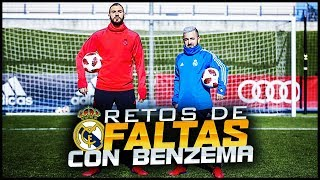 RETO DE FALTAS VS REAL MADRID ft. Karim Benzema