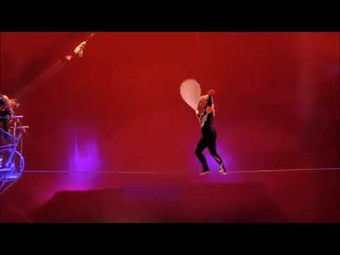 High Wire Duo Circus Act Dangerous Skills Extreme Entertainment