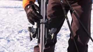Урок 3 - Обучение как носить горные лыжи(Англоязычный оригинал видео взят с этого канала https://www.youtube.com/user/elatemedia ..., 2014-02-16T15:46:22.000Z)
