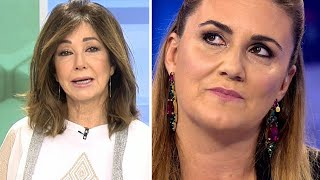 La bomba final de Ana Rosa Quintana contra Carlota Corredera , Rocío Carrasco y Fidel Albiac