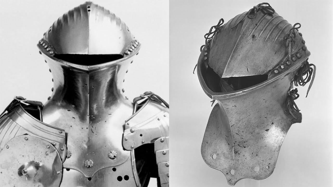 ЖАБЬЯ ГОЛОВА: Устрашающий средневековый шлем.