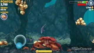 Hungry Shark  - mako #2 caranguejo gigante