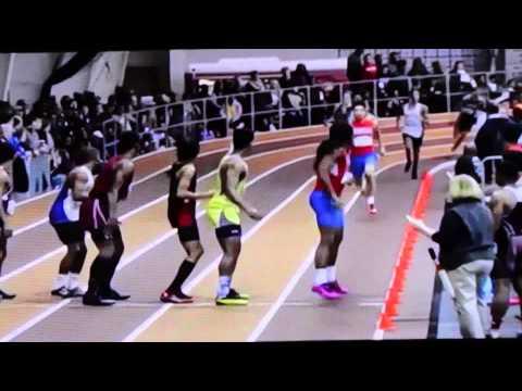 DeMatha Track 4X200 2015 Relay Team 1.28.89 Nelson Hamilton McFarland Haraway