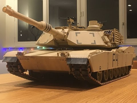 Building of the 1/16 RC M1A2 Abrams Tamiya - Part 6