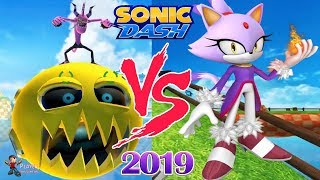 Sonic Dash Android Gameplay - Unlocked Blaze and Defeat Zazz Sonic Lost World Boss Video