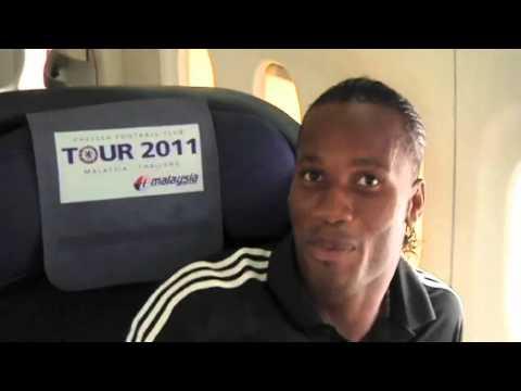 Chelsea FC - Kalou the camera man