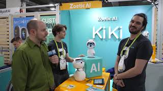 Zoetic AI - KiKi the pet companion robot - Interview - CES 2019 - Poc Network