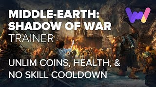 Middle-earth: Shadow of War Trainer +12 Mods (Must have)