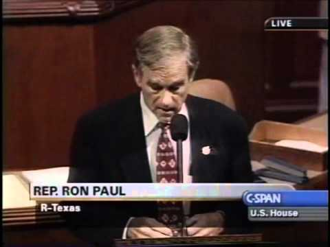 """Ron Paul: """"This real-estate bubble will burst, as all bubbles do"""" (part 1)"""