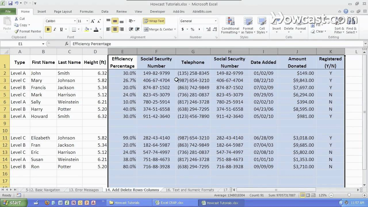 Microsoft office excel training youtube | Microsoft Excel