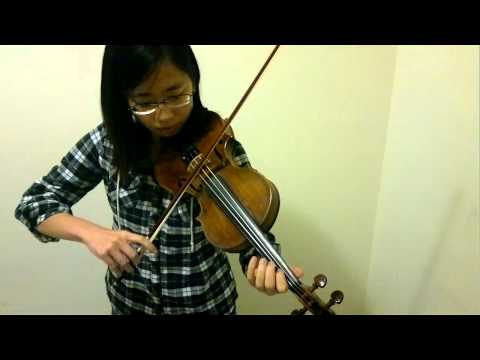 4 Octave G Major Scale Violin(Student Sylvia Li)