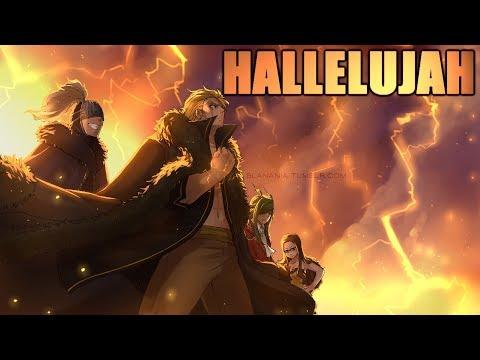 Nightcore - Hallelujah (Switching Vocals/lyrics)