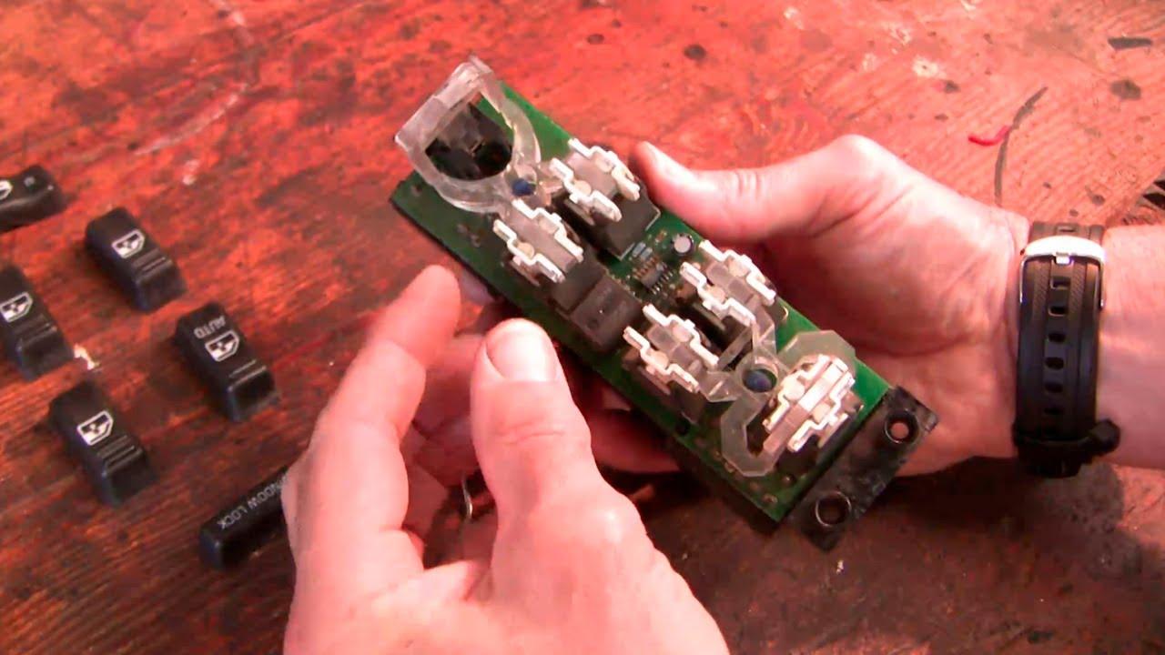 2001 Ford Windstar Radio Wire Diagram How To Fix The Chev Power Window Door Lock Switch Youtube