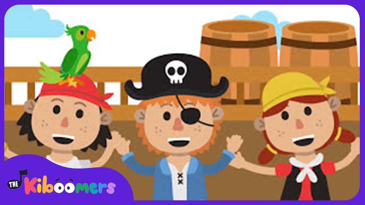 if you want to be a pirate song kids music nursery rhyme the