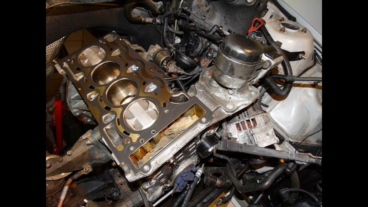 Замена прокладки ГБЦ BMW 316TI N42 Zylinderkopfdichtung wechseln ч8. Установка ГБЦ.