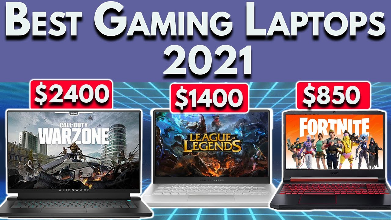 💻 Best Gaming Laptop 2021: ASUS, Legion, Alienware | Fall Buying Guide for Gaming Laptops 2021