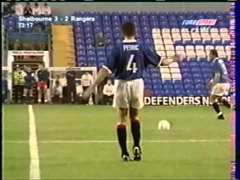 1998 July 22 Shelbourne Republic of Ireland 3 Rangers Glasgow Scotland 5 UEFA Cup