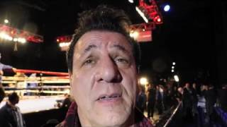 Chuck Zito talks Boxing