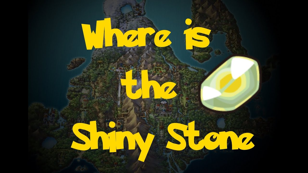 how do you get a shiny stone in pokemon pearl