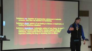Abnormal Psychology: Disorders: Substance Abuse Dependence Part I