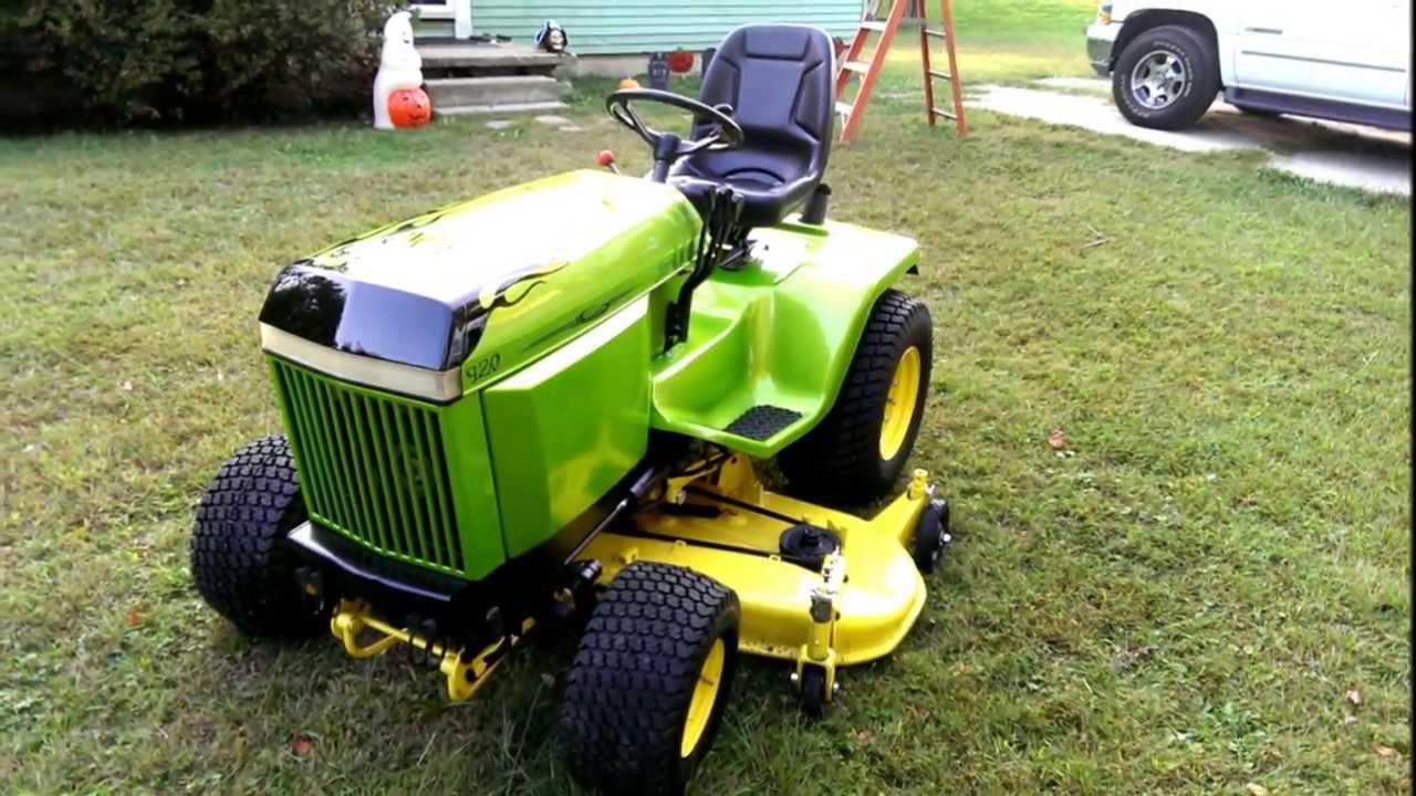 Jd Tractor Paint : John deere custom paint fix up youtube
