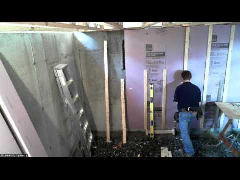 Comment isoler le c t int rieur d 39 un mur de sous sol doovi - Comment isoler un sous sol de maison ...