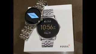 Smartwatch Fossil Q Wander Review and Unboxing