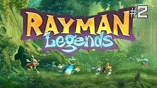 Twitch Livestream | Rayman Legends 100% Playthrough Part 2 [Xbox One]