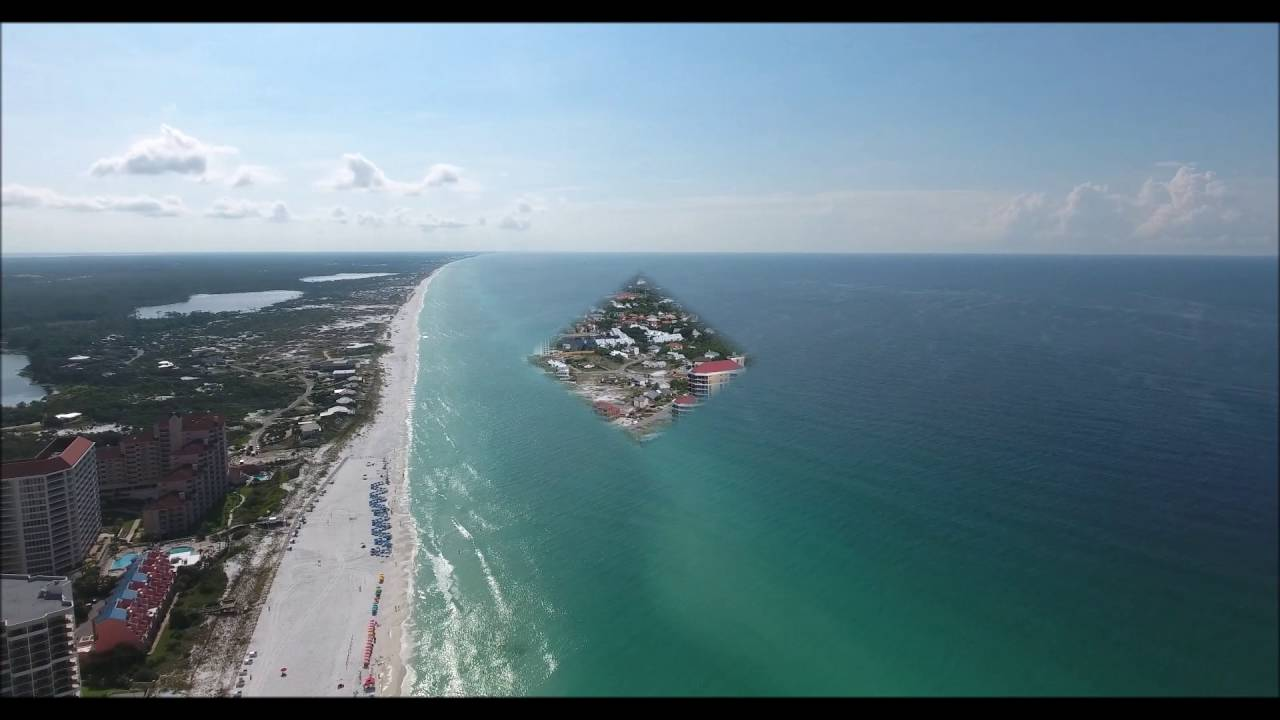 Tops L Beach Manor Aerial Video Destin Fl