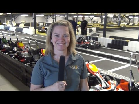RACER: Robin Miller With Sarah Fisher On New Karting Facility