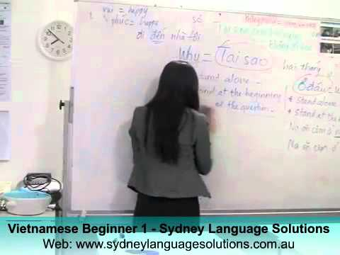 Vietnamese Beginner 1 - Sydney Language Solutions (part 3)