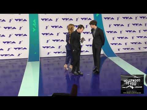 Echosmith at the 2017 MTV Video Music...