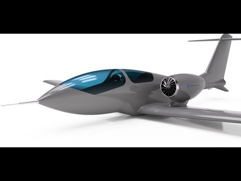 Williams International FJ33 Powered Kanim X 1 Jet Aircraft - Autodesk Fusion 360