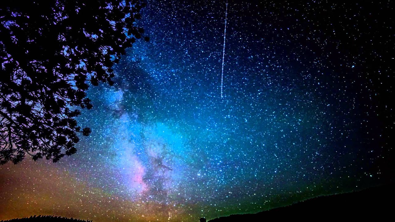 Night Sky Milky Way Galaxy Wallpaper - Pics about space