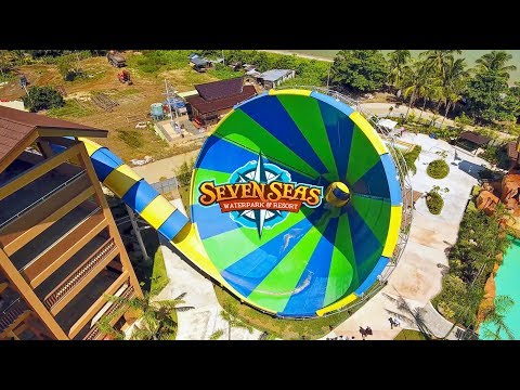 Transformation of Seven Seas Waterpark to October 2017 Opening Month 4K