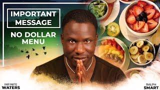 important message (law of attraction!) no dollar menu