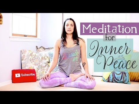 Meditation for Anxiety & Finding Inner Peace - How to Meditate for Beginners - BEXLIFE