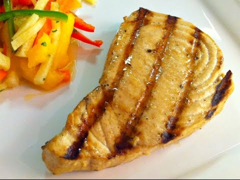 Grilled Marlin Steaks Recipe • A Great Catch! - Episode #40