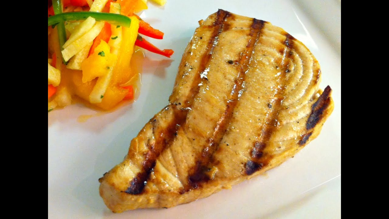 Grilled marlin steaks recipe a great catch episode for Marlin fish recipes