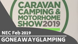NEC Caravan Camping & Motorhome Show Feb 2019