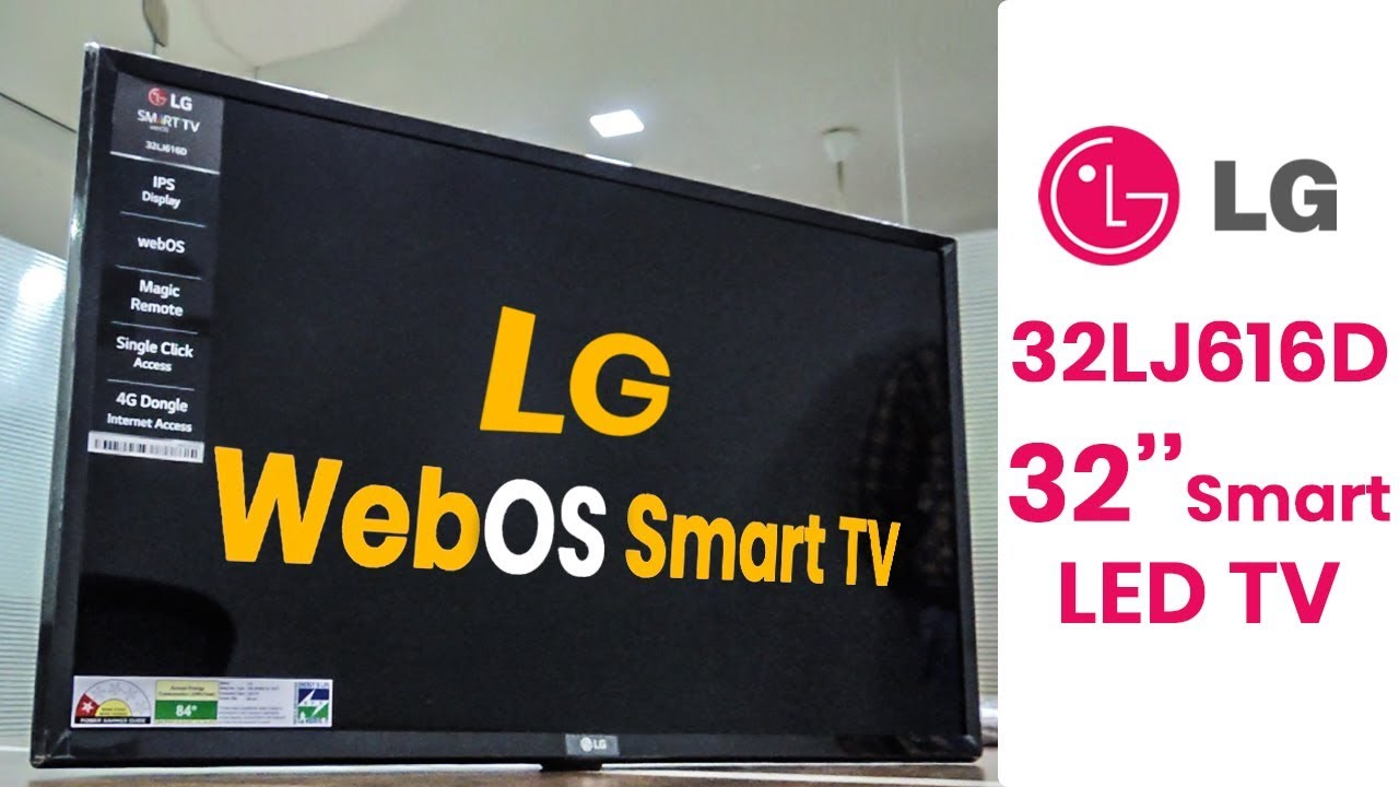 Lg 32lj616d 32 Inch Smart Tv Review Webos Magic Remote Control